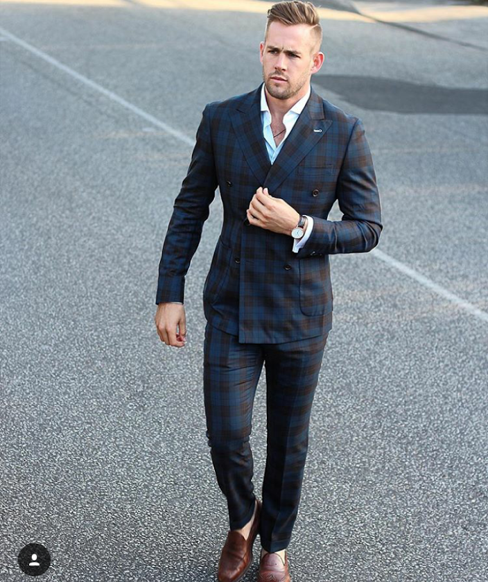 how-to-style-a-checked-suit