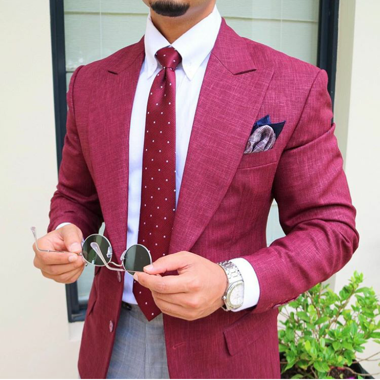How-to-style-red-blazers-suits-for-men