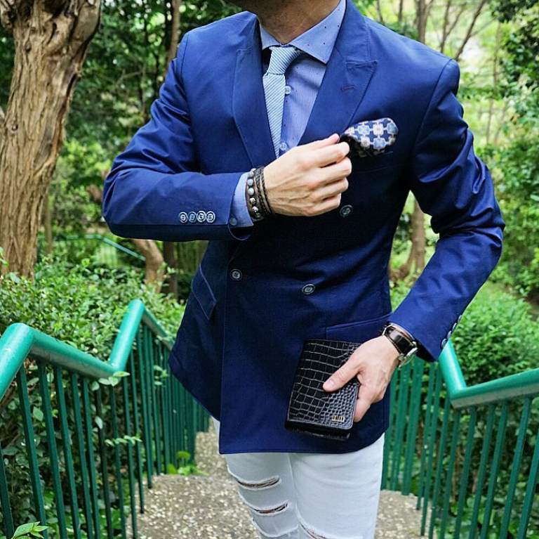 how-to-style-a-blue-suit-for-men-style-fashion