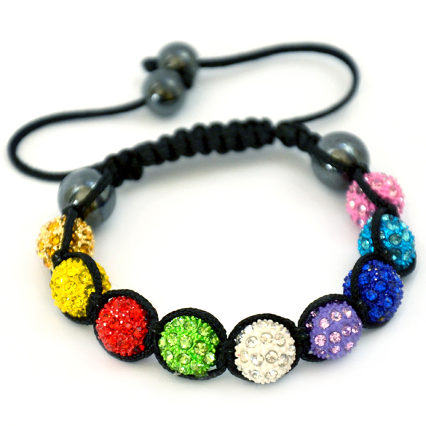 multicolour-shamballa-disco-ball-crystal-beads-bracelet-macrame-cord-magnetite-beads-bracelet-uk
