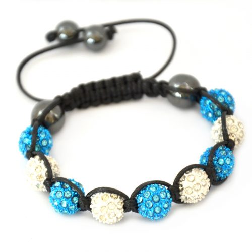 blue-white-shamballa-disco-ball-crystal-beads-bracelet-macrame-cord-magnetite-beads-bracelet-uk