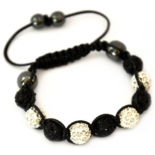 black-and-white-shamballa-disco-ball-crystal-beads-bracelet-macrame-cord-magnetite-beads-bracelet-uk