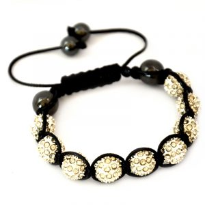 white-shamballa-disco-ball-crystal-beads-bracelet-macrame-cord-magnetite-beads-bracelet-uk