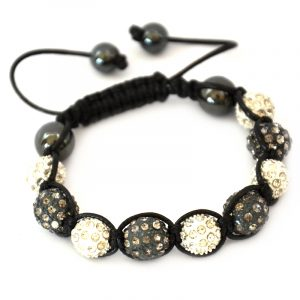grey-and-white-shamballa-disco-ball-crystal-beads-bracelet-macrame-cord-magnetite-beads-bracelet-uk