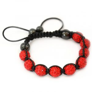 red-shamballa-disco-ball-crystal-beads-bracelet-macrame-cord-magnetite-beads-bracelet-uk