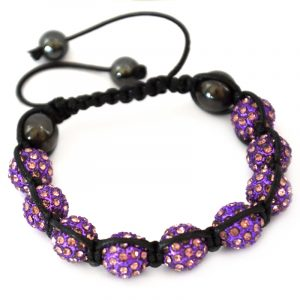 purple-shamballa-disco-ball-crystal-beads-bracelet-macrame-cord-magnetite-beads-bracelet-uk
