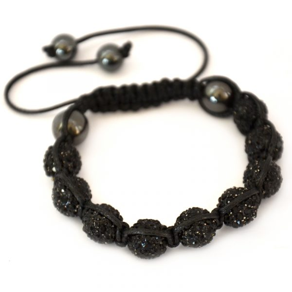 black-shamballa-disco-ball-crystal-beads-bracelet-macrame-cord-magnetite-beads-bracelet-uk