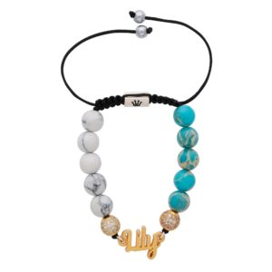 white-mozalite-light-blue-imperial-jasper-semi-precious-custom-personalised-bracelet-for-women-uk