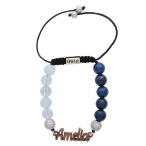 opal-lapiz-lazuli-blue-semi-precious-custom-personalised-bracelet-for-women-uk