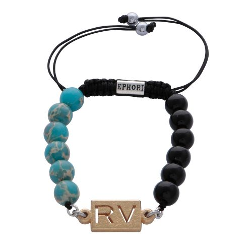 personalised-custom-light-blue-imperial-jasper-black-agate-natural-stone-beaded-bracelet-for-men-him