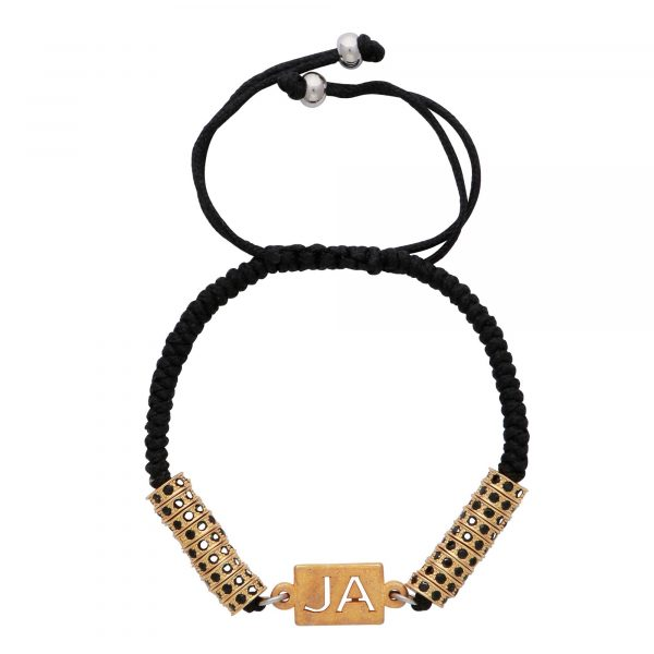 custom-personalised-initials-gold-plated-spacers-stoppers-stainless-steel-black-rhinestone-macrame-bracelet-for-men