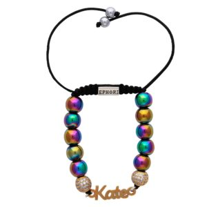 rainbow-hematite-semi-precious-custom-personalised-bracelet-for-women-uk