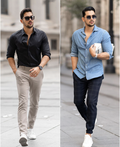 business-casual-look-for-men-fashionable