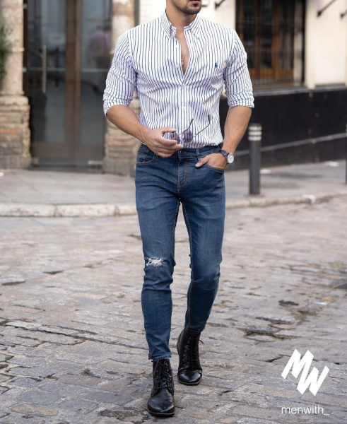 mens-business-casual-classy-style-latest-trends-jeans-shirts