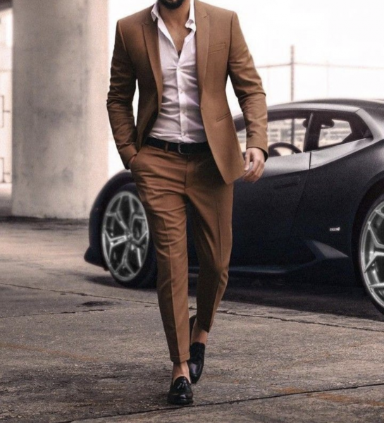 mens-business-casual-style-brown-blazer-and-trousers-how-to-style-loafers-mens-fashion-2021