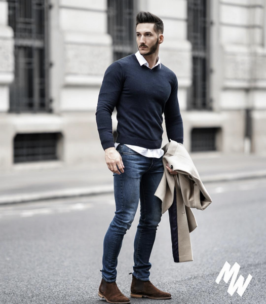 mens-winter-autumn-casual-look-jeans-boots-sweater-uk