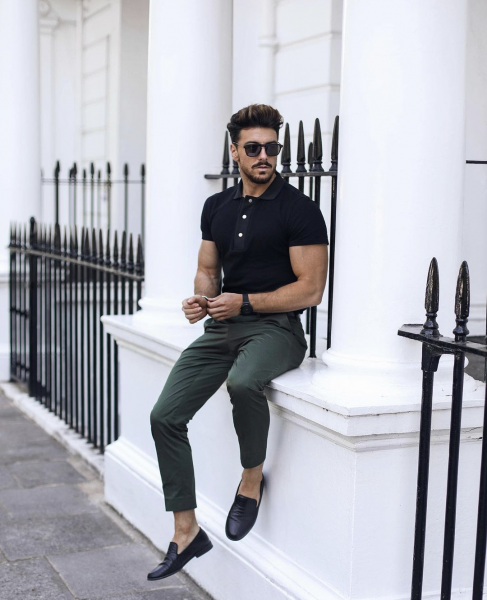 polo-shorts-with-trousers-loafers-look-mens-fashion-autumn-2021-trends