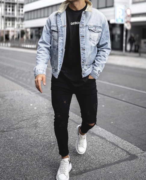 mens-denim-look-black-ripped-jeans-trainers-tshirt-how-to-style-mens-wear