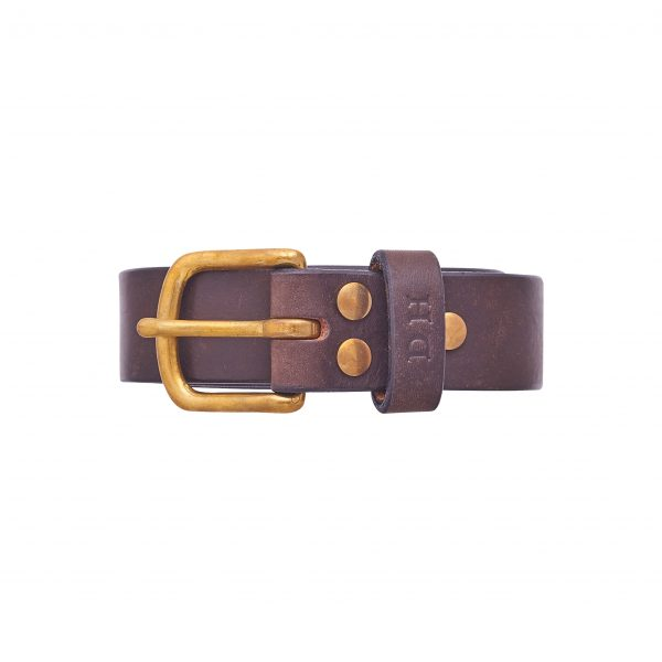 personalised-initials-brown-real-leather-belt-handmade-in-uk-perfect-gift-for-him